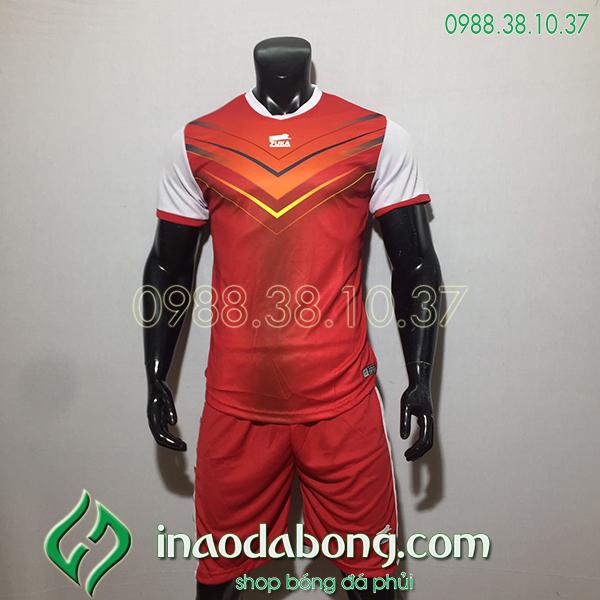 Áo bóng đá ko logo Zuka Mon màu đỏ