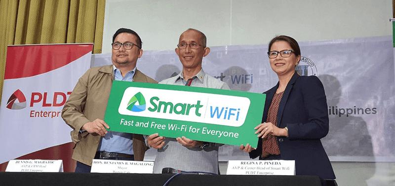 PLDT rolls out Smart WiFi in Baguio City