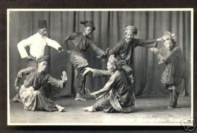 sejarah dan asal usul tari mancak ambek koto anau