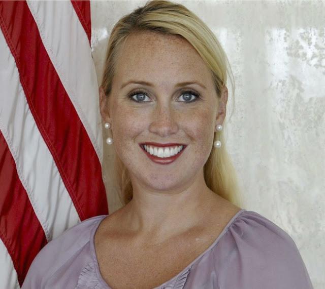 Lydia Barraza, portavoz del Departamento de Estado de EEUU