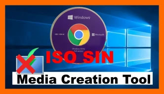 Windows 10 sin Media Creation Tool