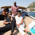 Don Jazzy, Mo Abudu and Richard Mofe Damijo go on a boat ride around the French Riviera