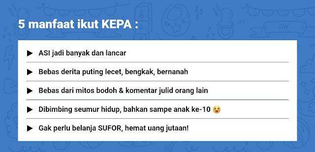 Manfaat KEPA Proudmom.id