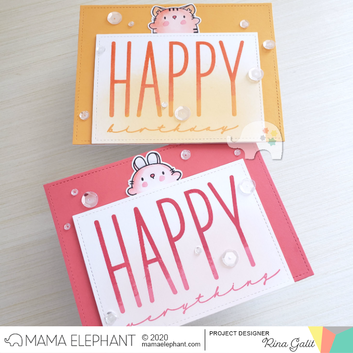 Mama Elephant HAPPY CHIC WISHES에 대한 이미지 검색결과