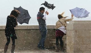 نشرة متابعة : عودة الأمطار الرعدية بفاعلية أكبر والمعهد الجوي يحذر