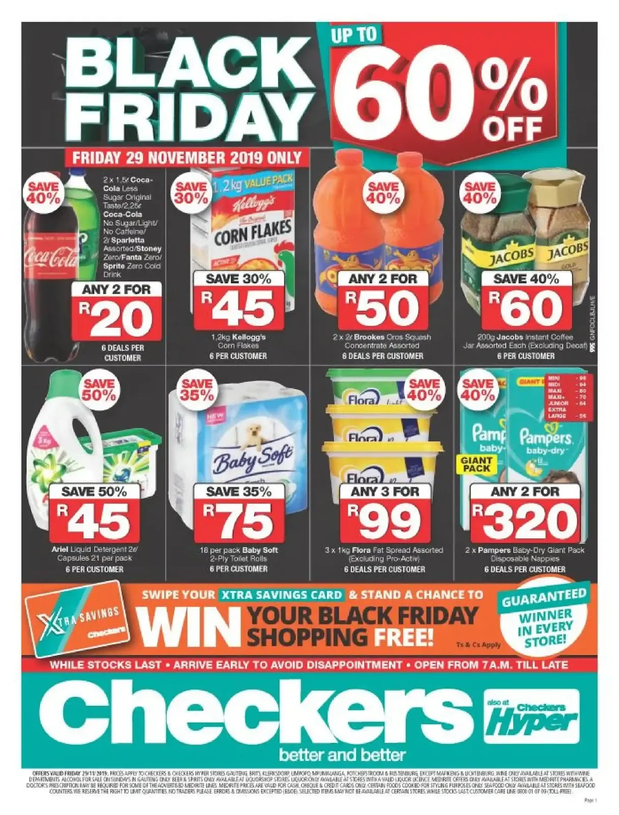 Checkers Black Friday Deals - Gauteng