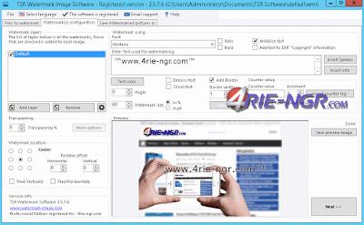 TSR Watermark Image Pro 3.5.7.8 Full Version