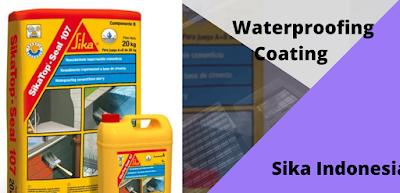waterproofing coating sika