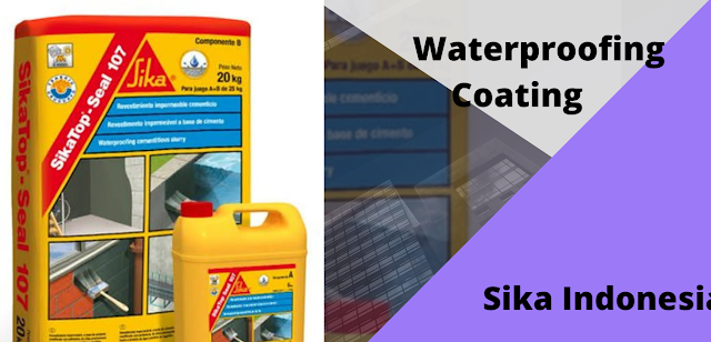 waterproofing coating sika