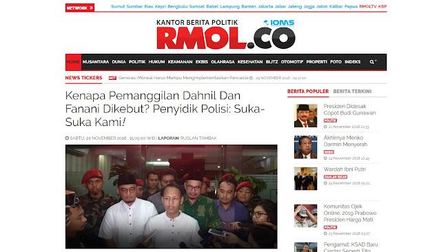 """Advokat Senior: Tak Ada UU Bolehkan Polisi Bekerja """"Suka-suka Kami"""""""
