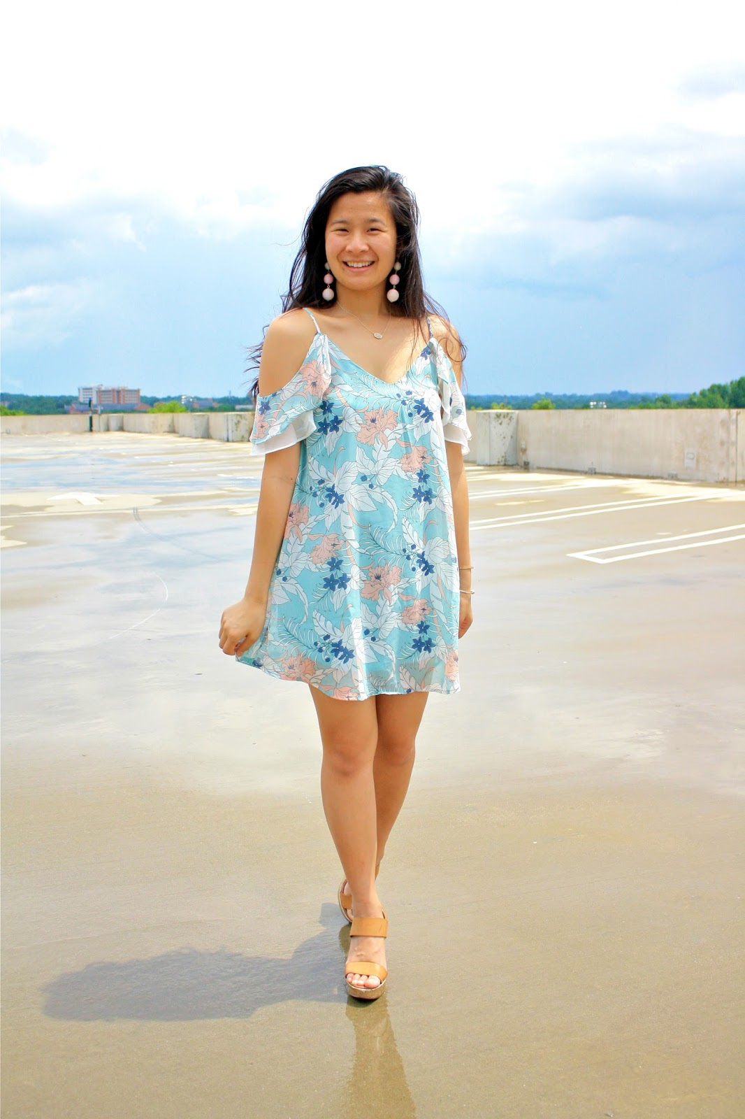 TJ Maxx pastel dress