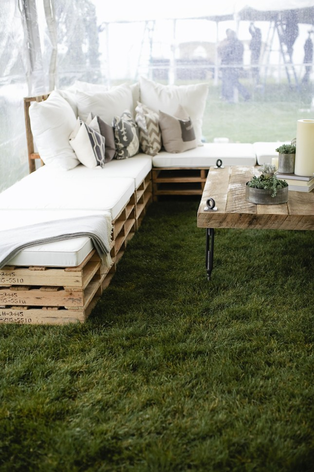 Do It Yourself Furniture Ideas: 14 Outdoor Pallet Furniture For Spring