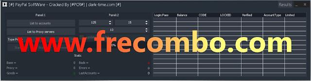 Paypal Software Accounts Checker with Balance V3.6.2.3