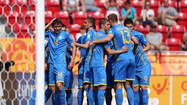 مبارات اوكرانيا وكولومبيا