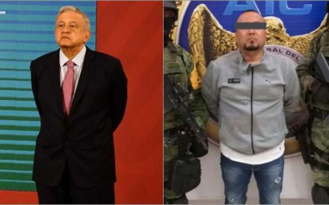 El Marro amenazo al Presidente Lopez Obrador , hoy es el primer capo capturado en su Gobierno