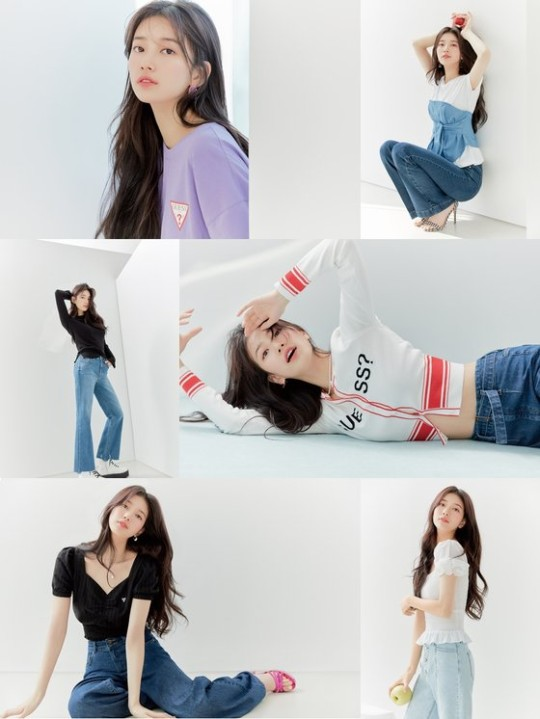 Singer and Actress Suzy's photo book which full of her fresh charms has been released.