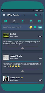 Download BBM MOD KRYPTONITE v3.2.0.6 APK Versi Terbaru