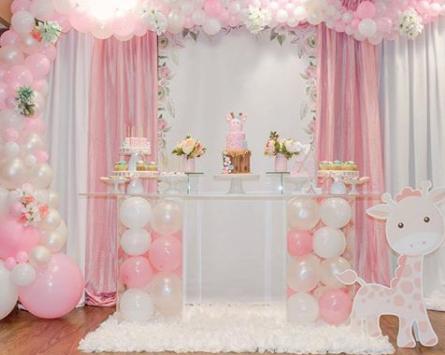 Decoracion Baby Shower Nina Elegante Evhall News Blogs
