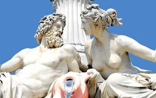sculpture of Greek gods