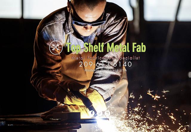 Metal Fabrication & Steel Art Workshop in Modesto CA
