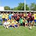 Emotiva confraternización con futbolistas estrellas de Villa Montes