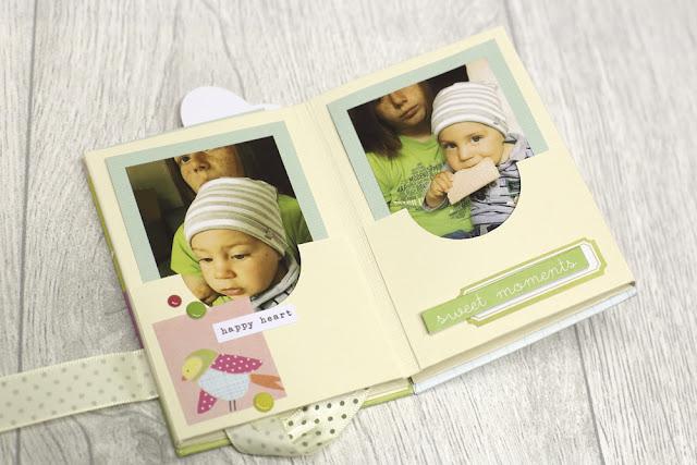 Minibook mit Augustkit
