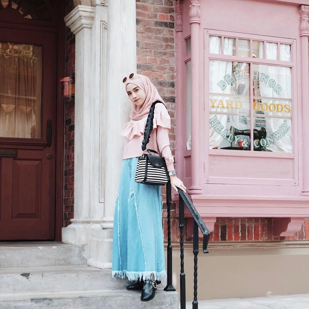 30 model baju muslim modis untuk remaja masa kini Fashion dan style remaja