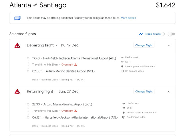Dl Atl To Scl Or Viceversa From 1642 Flyertalk Forums