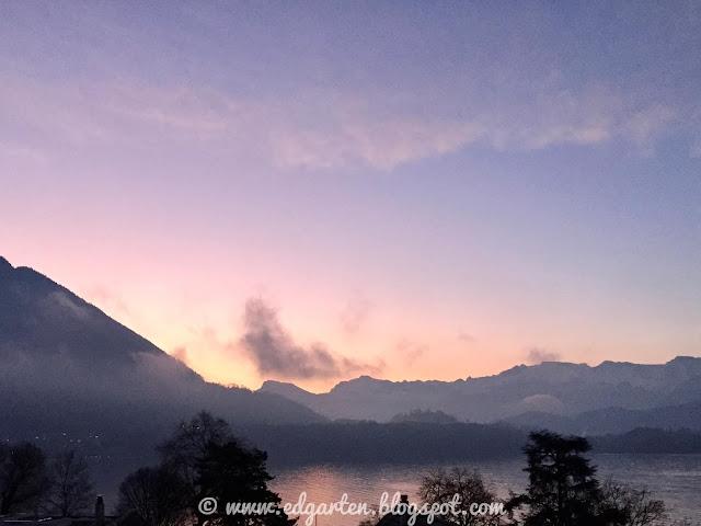 Sonnenaufgang in Merlischachen