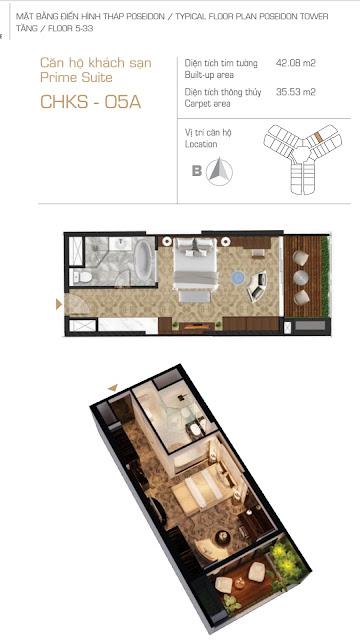 căn hộ condotel dự án Sunshine Empire Ciputra Hà Nội tháp Poseidon tower