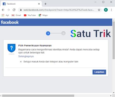 Cara Mengatasi Akun FB Kena Sesi