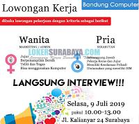 Walk In Interview di Bandung Computer Surabaya Terbaru Juli 2019