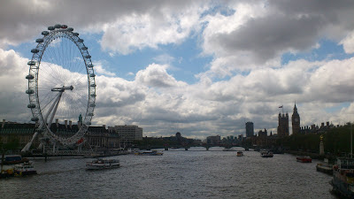 London Eye em Londres, Inglaterra