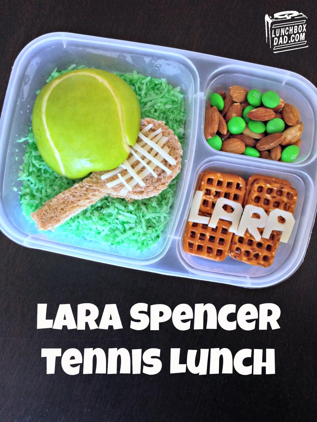 Tennis Bento Lunch