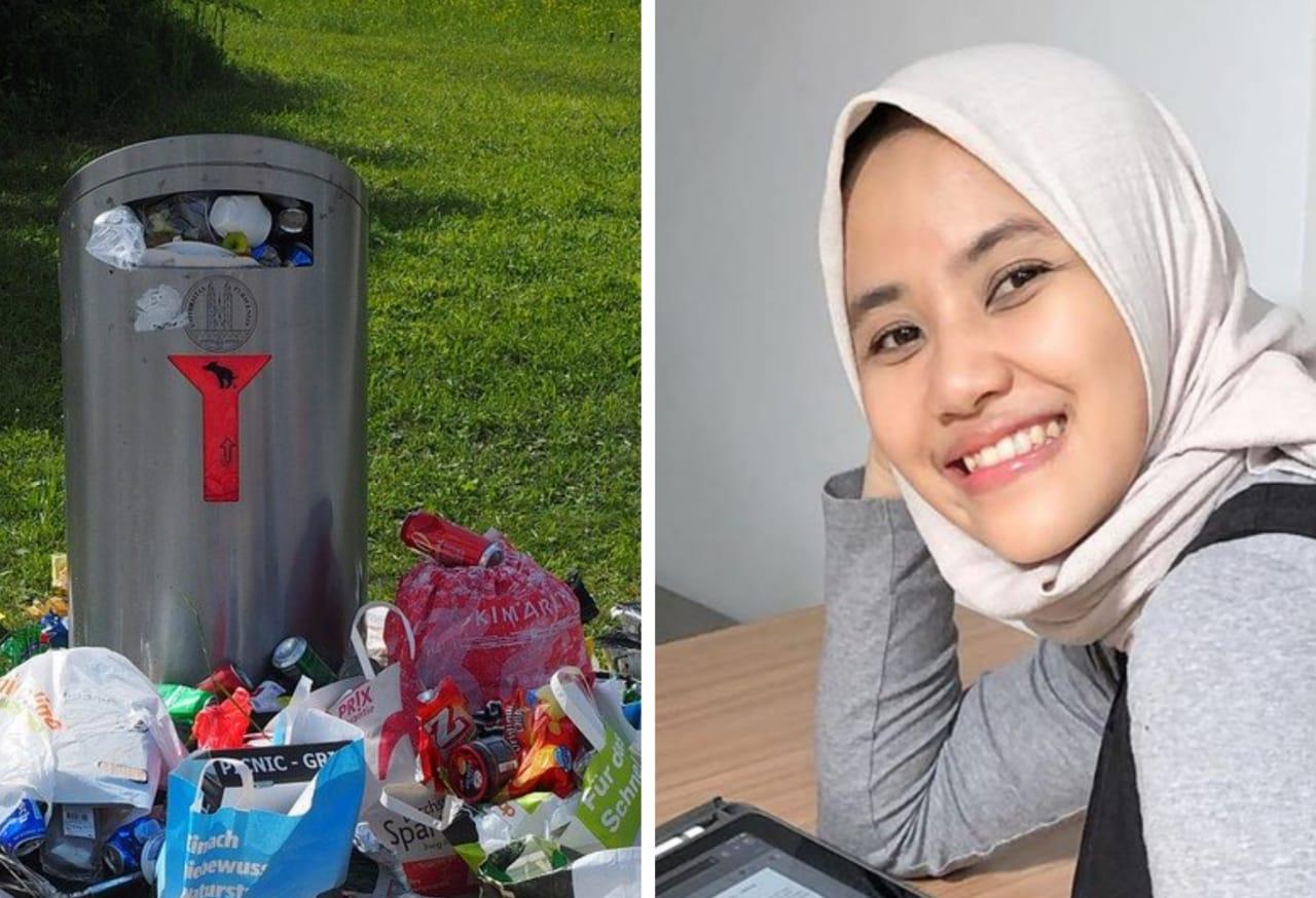 cara mengurangi sampah plastik tampil