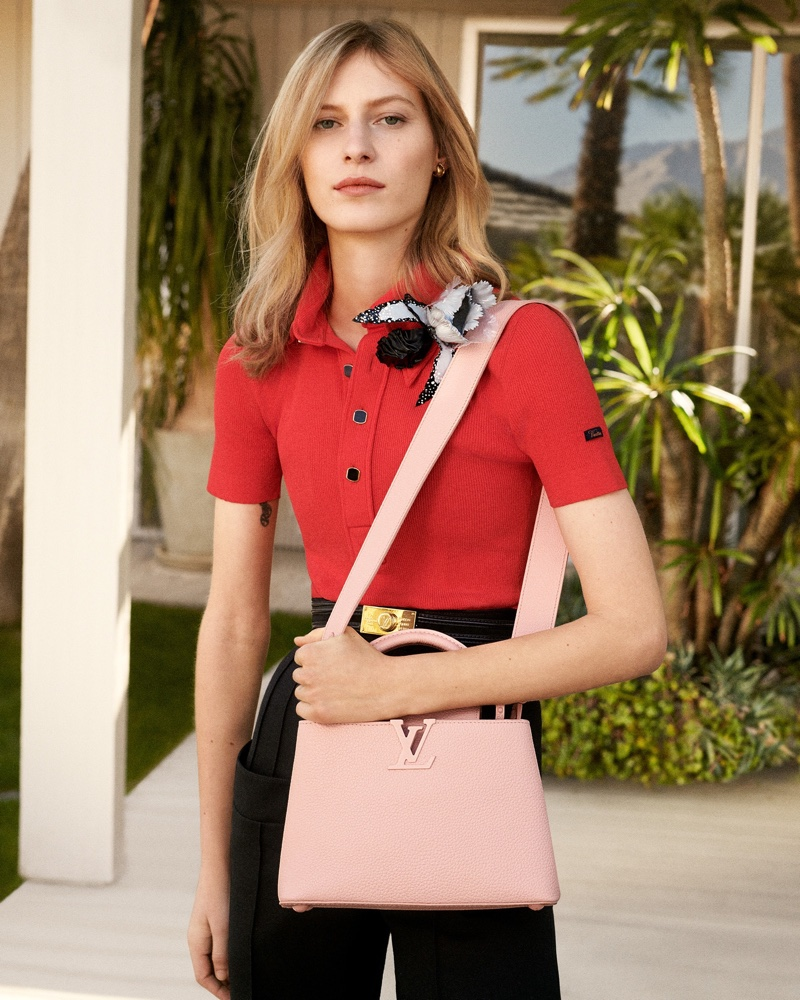 Craig McDean photographs Louis Vuitton Capucines spring-summer 2020 campaign