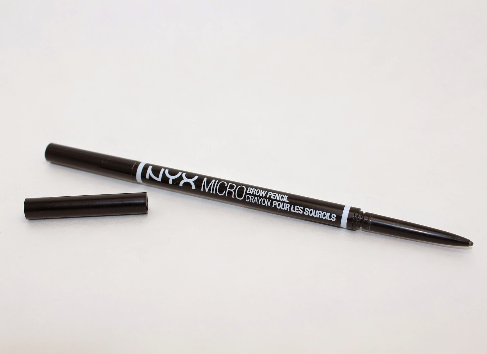 Review - NYX Micro Brow Pencil in Ash Brown   The Brauhaus