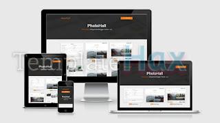 Phothall Photography Blogger Templates