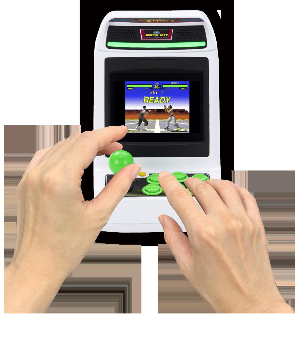 Astro City Mini Legende der Sega-Spielhalle