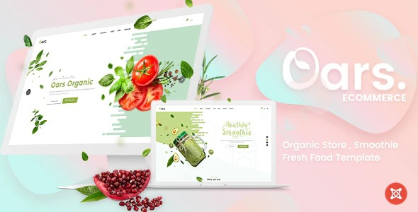 Organic Store Website Template