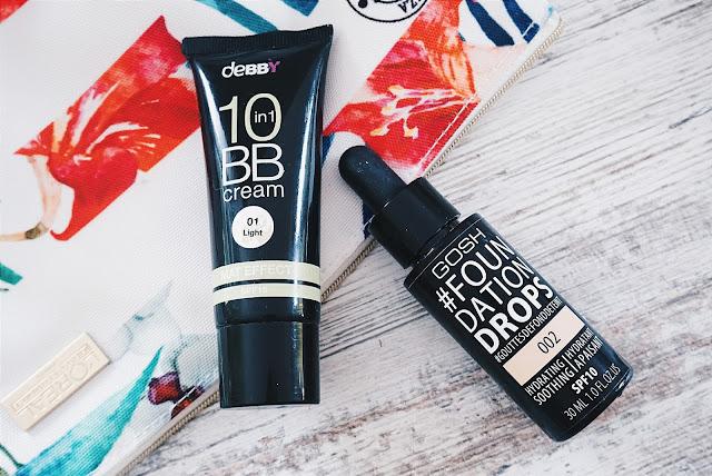 Sommer Favoriten Teint BB Cream debby Foundation Drops Gosh