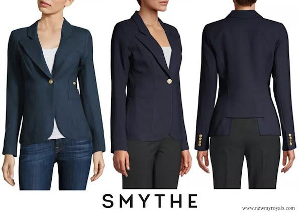 Kate Middleton wore Smythe Duchess Wool Blazer