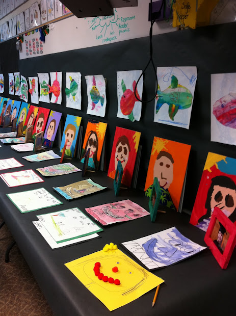 Kindergarten Art Show Ideas