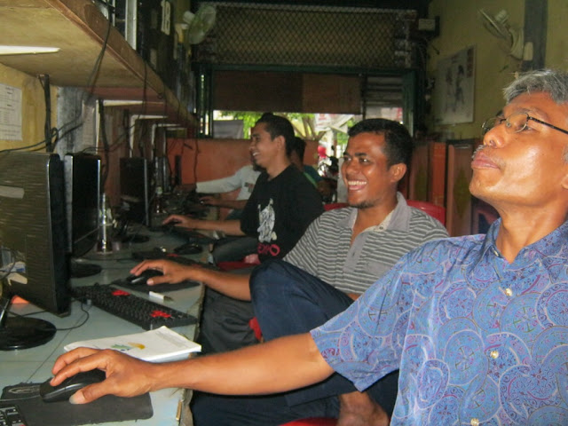 Peserta Pelatihan Blog