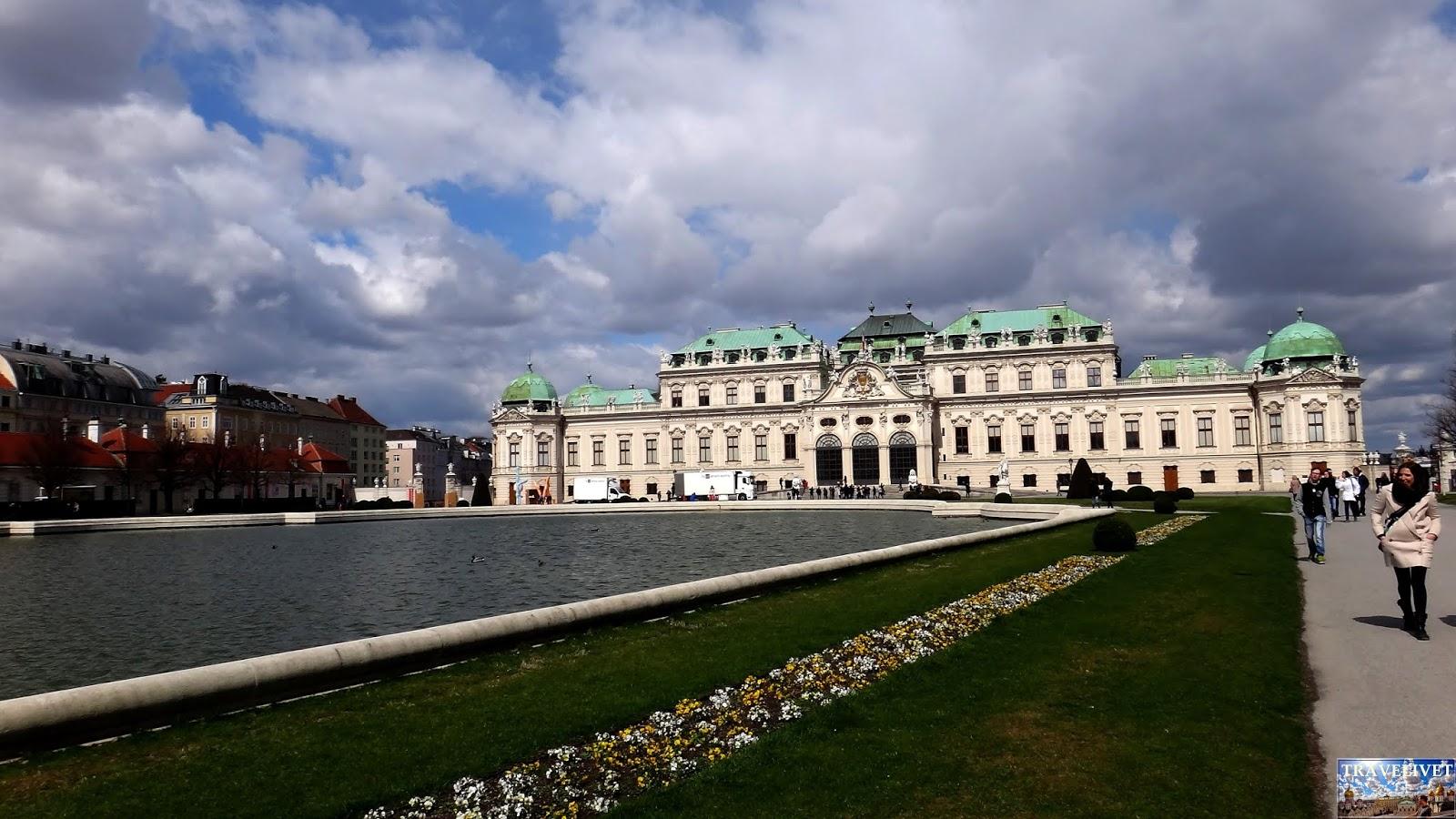 Autriche Vienne Palais du Belvédère