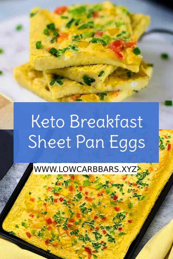 Keto Breakfast Sheet Pan Eggs Recipe - Easy Keto Breakfast Recipe - Easy Breakfast Recipe - Keto Breakfast Recipe #ketobreakfast #sheetpan #sheetpaneggs #easybreakfastrecipe #healthybreakfast #easyketorecipe #ketogenic #ketodiet #breakfastrecipe