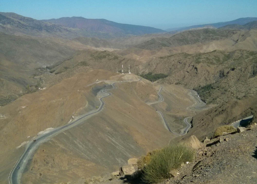 Essay on a journey through desert