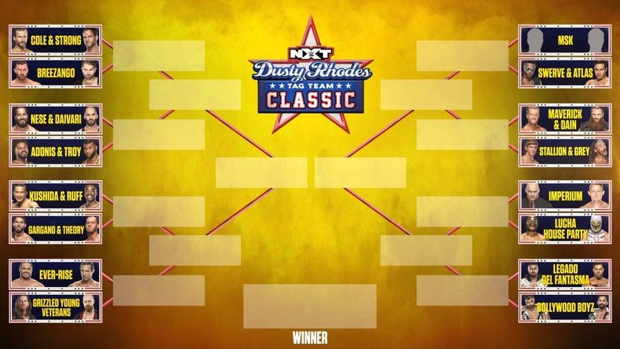 Revelado o chaveamento da Dusty Rhodes Tag Team Classic 2021