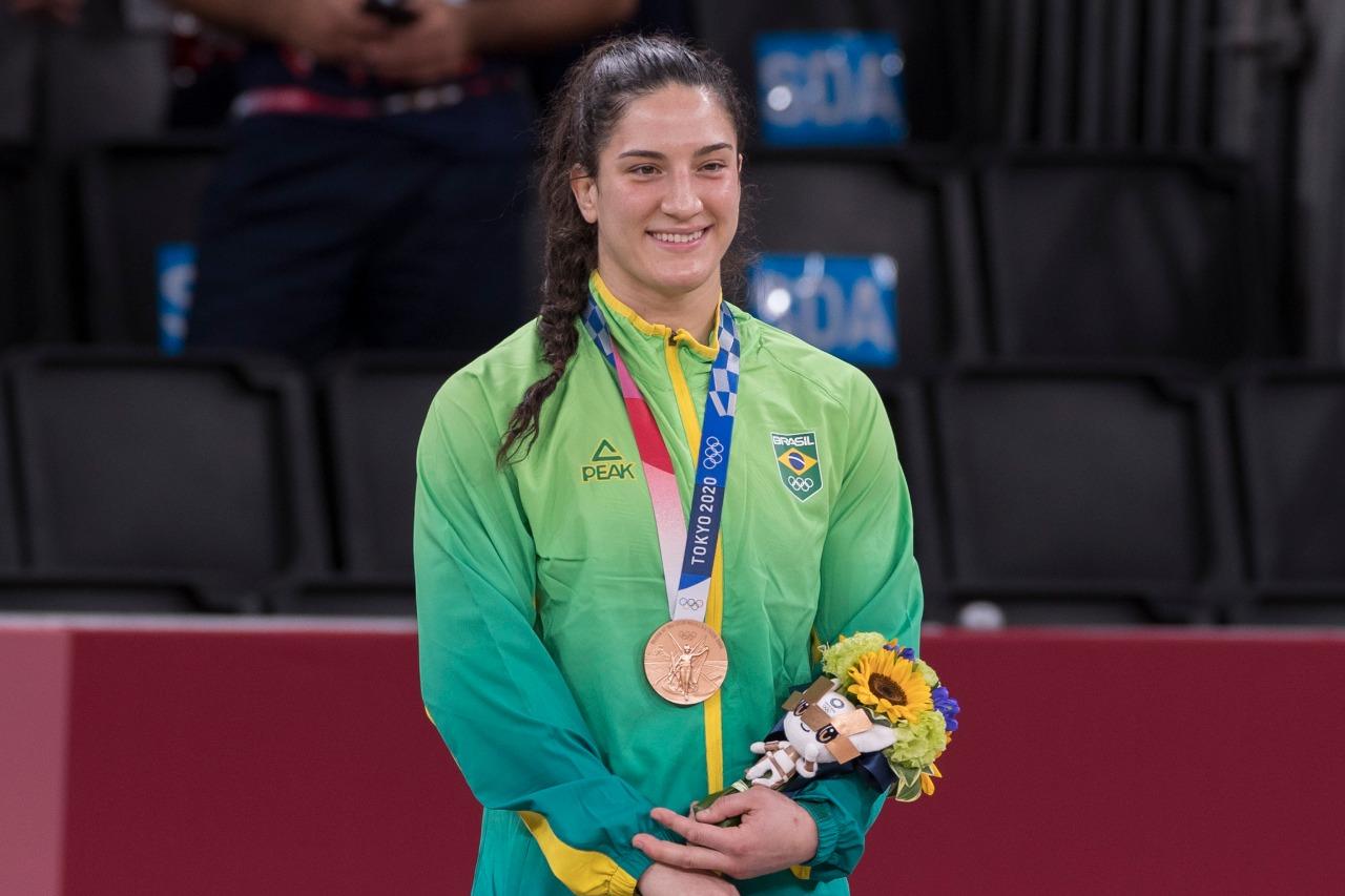 Mayra Aguiar bronze Tóquio