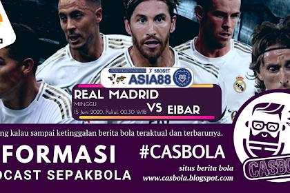 Prediksi Bola Real Madrid vs Eibar